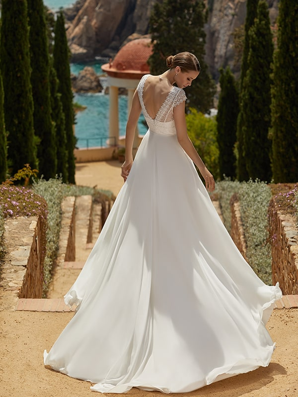 Flowing Bridal Gowns
